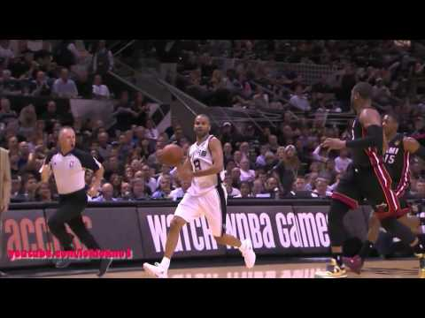 Tim Duncan Full Highlight vs Heat Game 2 , 18 Pts, 15 Reb , HD
