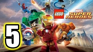 LEGO Marvel Super Heroes Walkthrough PART 5 [PS3] Lets
