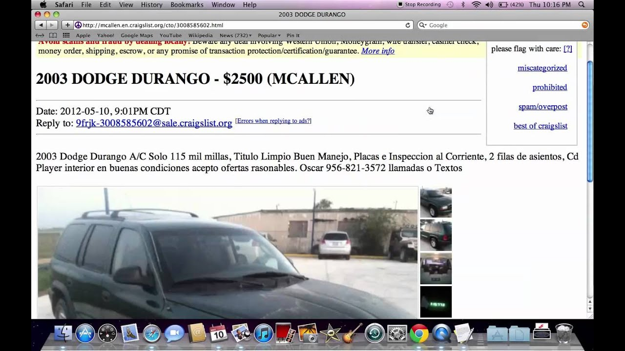 Craigslist Mcallen Texas Cars Autos Post