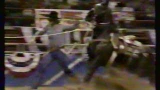 Calf Roping - 1986 NFR Rodeo - 10th Go Round