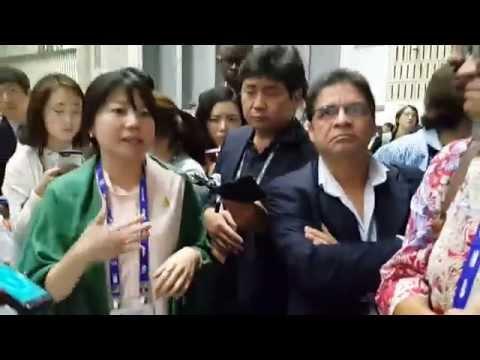 세계교육포럼 한국교육 자화자찬 전체회의에서 돌직구 던진 한국 대표 문아영