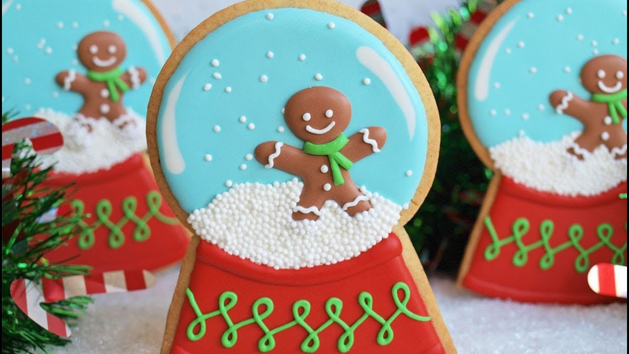 How To Decorate A Snow Globe Cookie Collaboration With