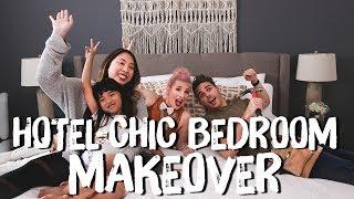 Hotel Chic Neutral Bedroom Makeover! | Breaking Beige | Mr. Kate