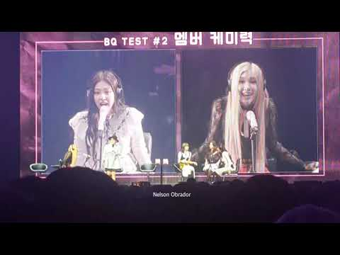 BLACKPINK Private Stage - Guessing Words Games (Chapter 1 2019)