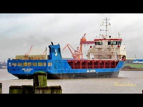 ABIS BILBAO PBQB IMO 9545027 Emden Germany ship vessel seaship Schiff Seeschiff Frachtschiff