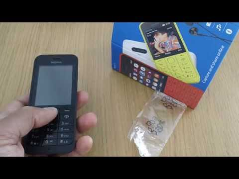Nokia 220 Mobile Phone Cell Phone Review, New Nokia 2014.