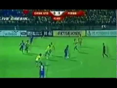 GRESIK UNITED VS PERSIB BANDUNG 1-4 ALL GOALS 20 APRIL 2014