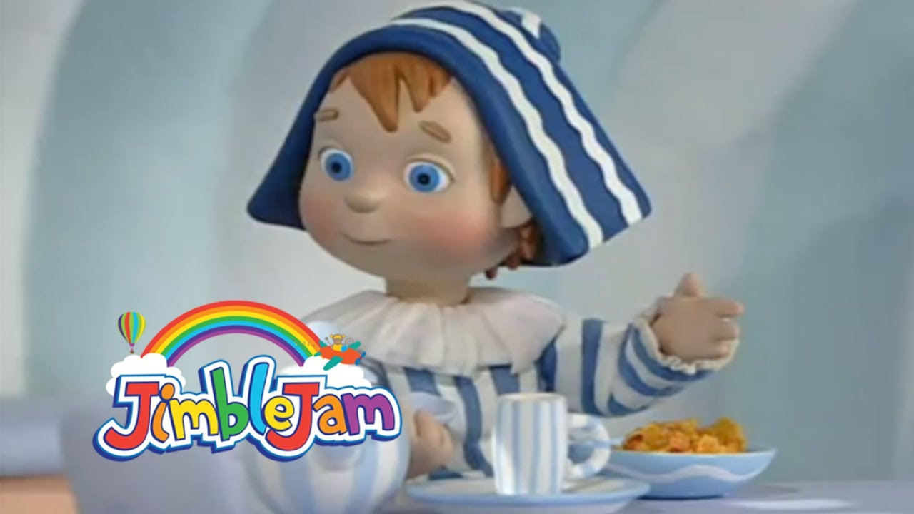 Andy Pandy : A Noisy Supper : JimbleJam - YouTube