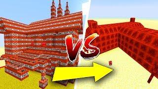 Thử Thách Làm Nhà TNT Và Đá Đỏ Trong Minecraft