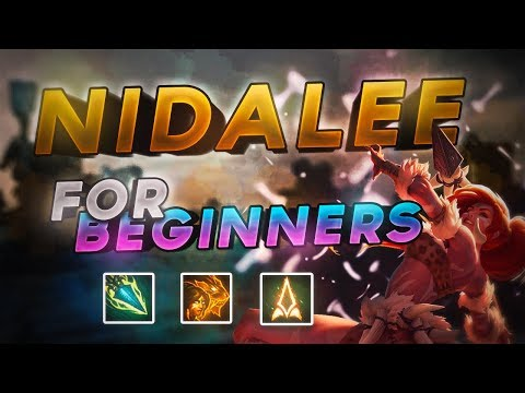 😼 Nidalee Jungle Guide For Beginners Season 8 😼 League of Legends