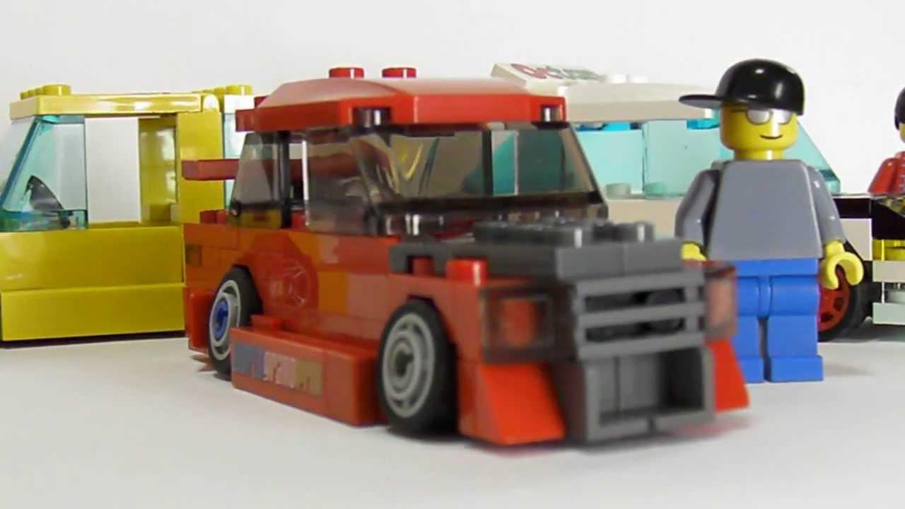 Lego Race Car Hauler