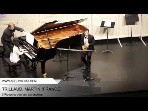 Dinant 2014 – Trillaud; Martin – 3 Pieces de Jan Van Landeghem