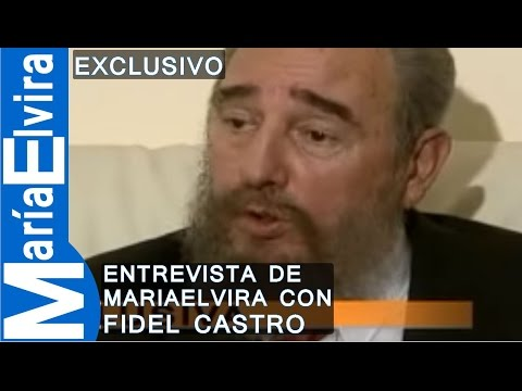 ENTREVISTA DE  MARIA ELVIRA CON FIDEL CASTRO