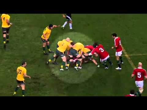Wallaby captain Horwill Cited & Cleared for Stamping | Rugby Video Highlights