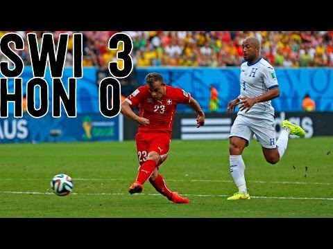 World Cup 50th Hat Trick Goes to Shaqiri [Switzerland vs Honduras Recap]