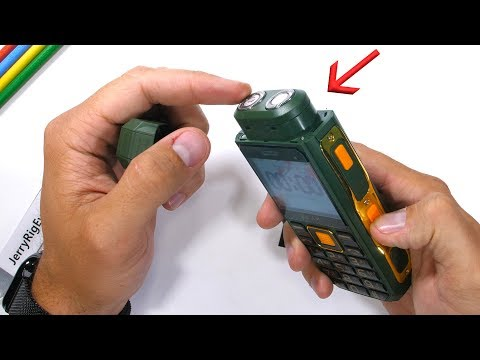 Shaver Phone durability test and teardown (Sponsored)