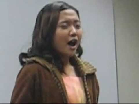 CHARICE - applies for a visa (acappella) - And I am Telling You - CHARICE PEMPENGCO