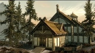 Skyrim Hearthfire Fully Furnished House