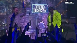 """Post Malone & 2 Chainz Perform """"Money Made Me Do It"""" & """"Candy Paint"""" LIVE"""