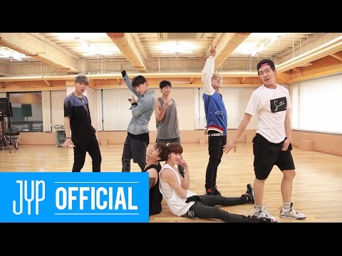"Got7 - A (Dance Practice), Dance practice and choreography video for Got7's song ""A""."