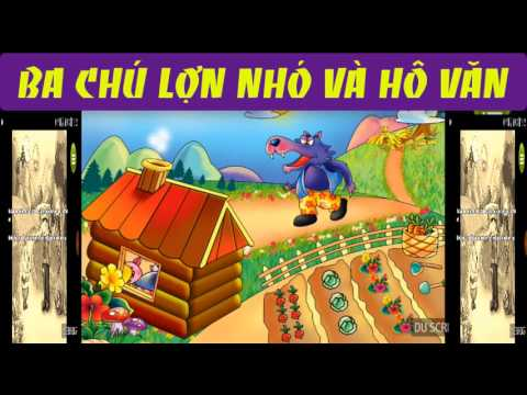 truyện cổ tích ba chú heo con và hổ vằn- phim hoạt hình - kể truyện cổ tích việt nam