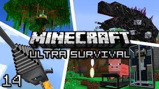 Minecraft: Ultra Modded Survival Ep. 14 - QUARRY!