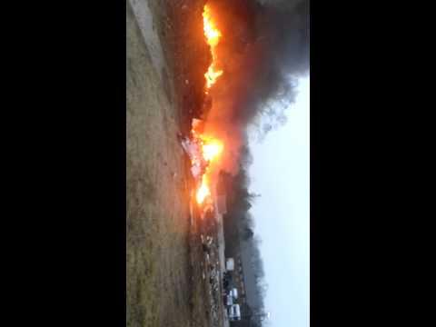 Video: Small plane crashes, burns in Tenn.