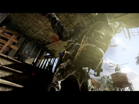 "Official Call of Duty: Ghosts Multiplayer Reveal Trailer [Eminem Debuts ""Survival""]"
