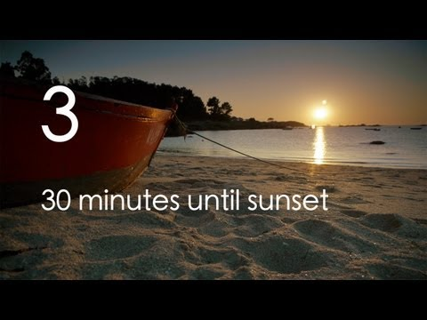 "relaxingeye No. 3 - Relaxing sunset with ""brain wave"" music for sleep, meditation or study"
