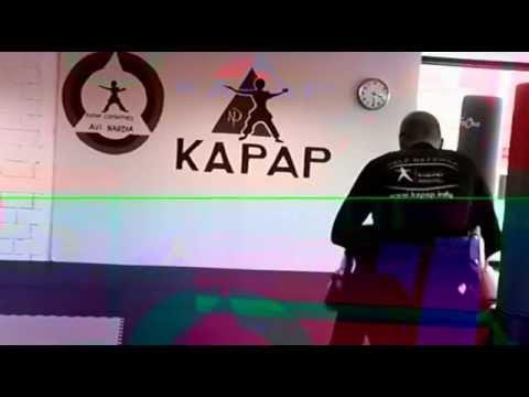 Kapap Kids Class, some punching