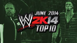 WWE 2K14: Top 10 CAWs (Xbox 360) (June 2014)