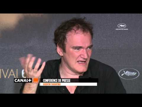Cannes 2014 - Quentin TARANTINO - The press conference