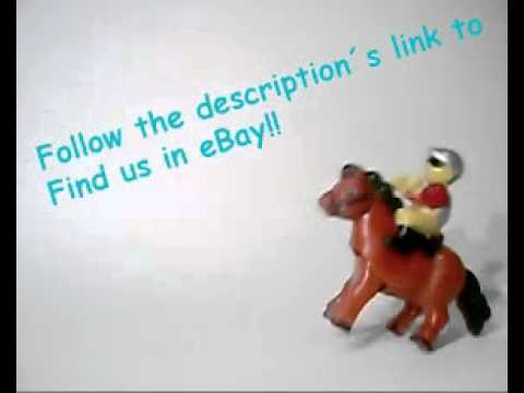 COWBOY RIDER JOCKEY ON HORSE RACING  FIGURE TOY