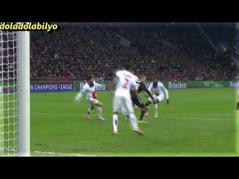 Blaise Matuidi vs Leverkusen - PSG - 2014