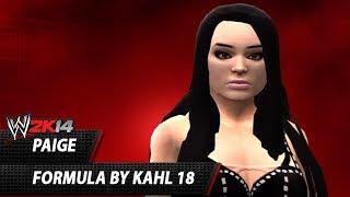 WWE 2K14: Paige CAW Formula By Kahl 18
