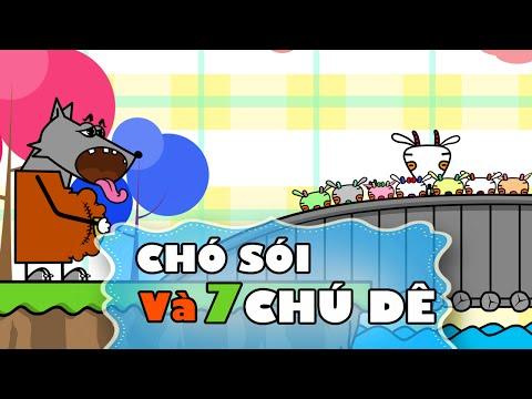 Chó Sói và Bảy Chú Dê Con | Truyện Cổ Tích Cho Bé [FULL HD 1080p]