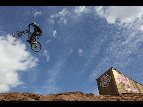 A descida de bicicleta de montanha MAIS LOUCA do Mundo -  Kyle Strait wins Red Bull Rampage 2013