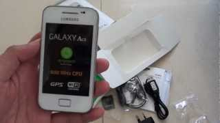 Samsung Galaxy Ace: How To Insert SIM Card