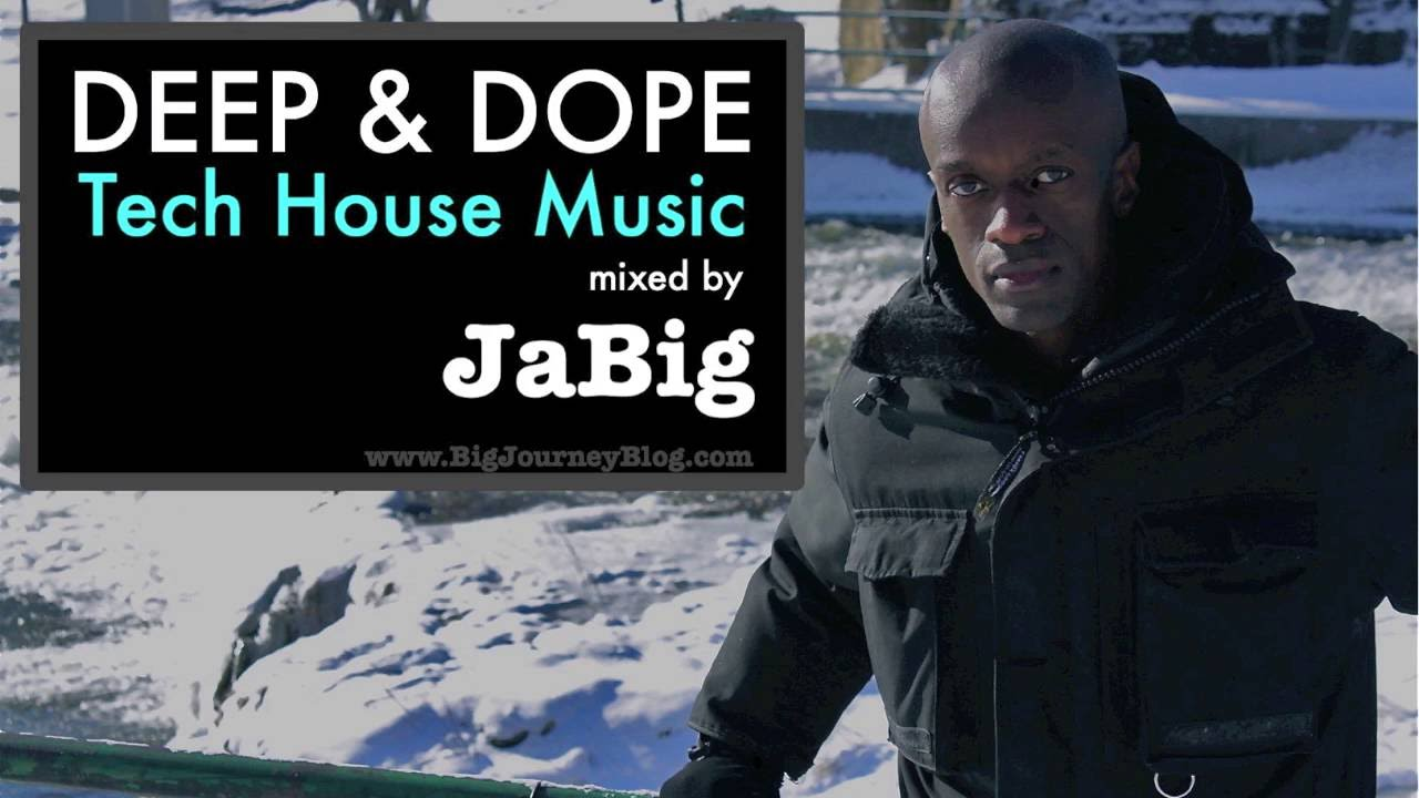 Deep tech house music dj set by jabig deep dope minimal for Deep house music djs