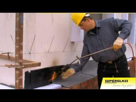 Superglass - Dammung von zweischaligem Mauerwerk
