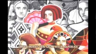 Artista pl�stico Glauco Moraes abre casa e ateli� ao p�blico
