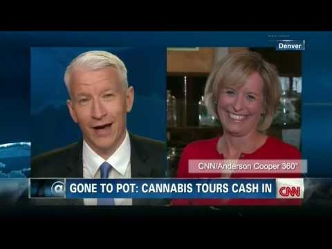 CNN reporter Randi Kaye, on-air na na-high sa marijuana sa Colorado!
