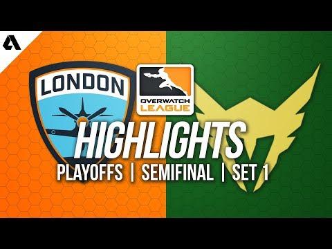 London Spitfire vs Los Angeles Valiant | Overwatch League Playoffs Highlights OWL Week 2 Match 1
