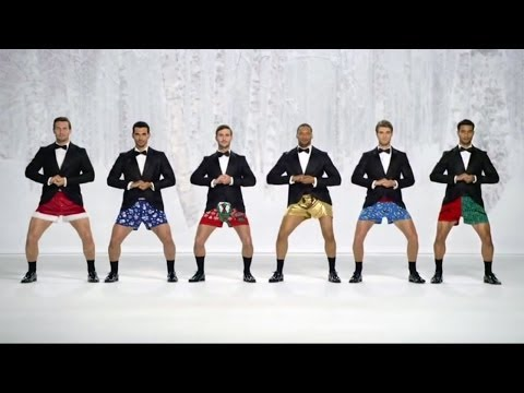 kmart joe boxer commercial Christmas Jingle Bells Show Your Joe