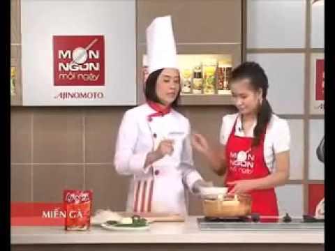 Hướng dẫn nấu miến gà