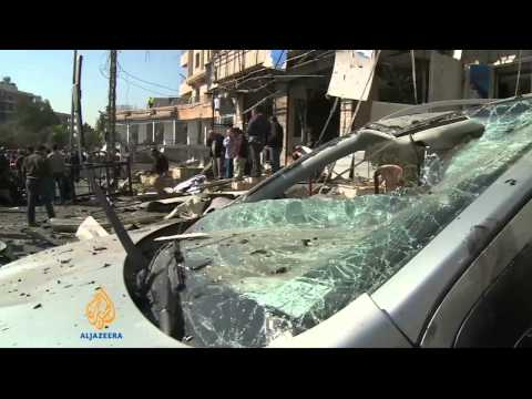 Twin suicide bombings hit Lebanon