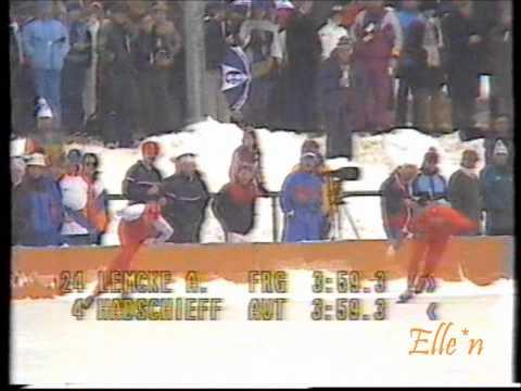 Olympic Winter Games Sarajevo 1984 – 5 km Lemcke – Hadschieff