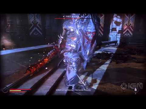 Демонстрация игрового процесса Lords of the Fallen