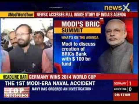 PM Modi in Brazil for mega BRICS summit