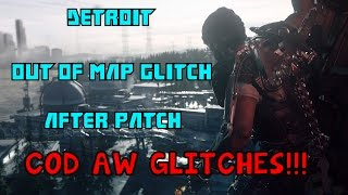 AMAZING NEW *EASY* ADVANCED WARFARE OUT OF MAP DETROIT
